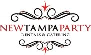 new tampa party rentals and catering logo